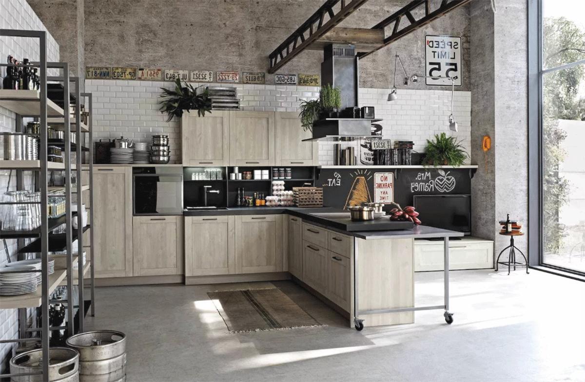 вам поможетлофт мебель на кухню