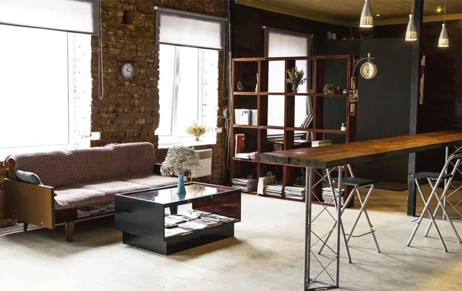 посетить loft магазин мебели