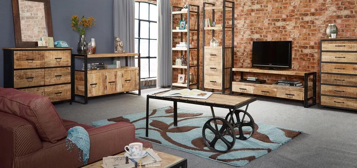 мебель лофт в стиле хай-тек